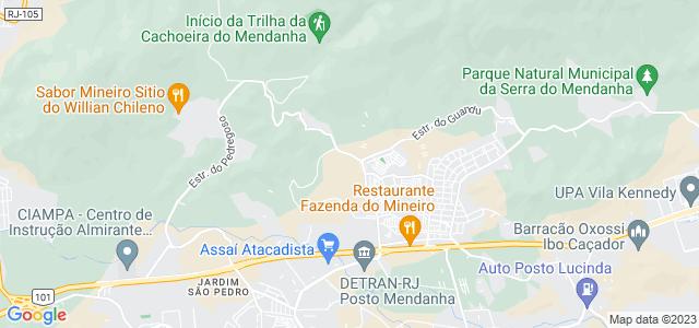 Cachoeira do Mendanha, Campo Grande - RJ