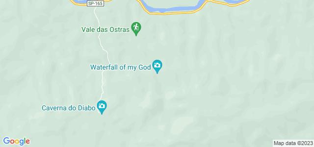Cachoeira do Meu Deus, Eldorado, São Paulo -SP