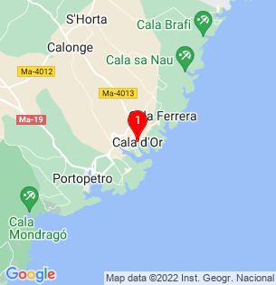 Google Map of Cala d´Or, Baleares, Spain