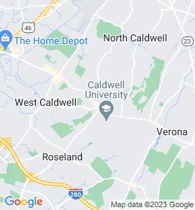 Caldwell NJ Map