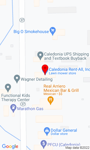 Google Map of Caledonia Rental 9800 Cherry Valley, Caledonia, MI, 49316