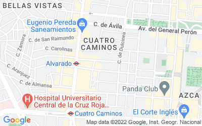Map of Calle Jaén, número 16, Piso: Atico 2