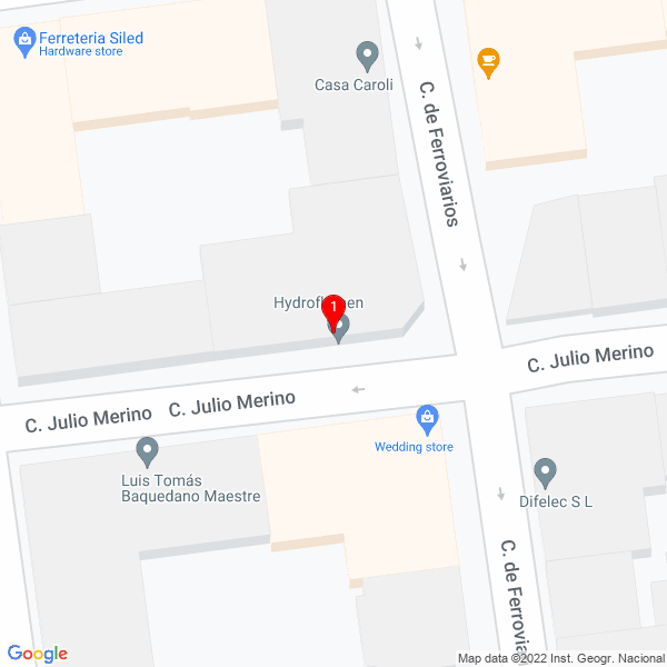 Google Map of Calle Julio Merino, 26, 28026 Madrid, España