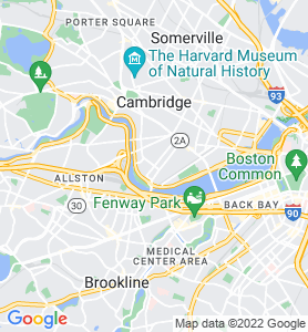 Cambridgeport MA Map