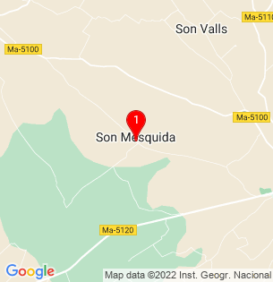 Google Map of Cami son Mesquida 2047, Son Mesquida, Baleares, Spain