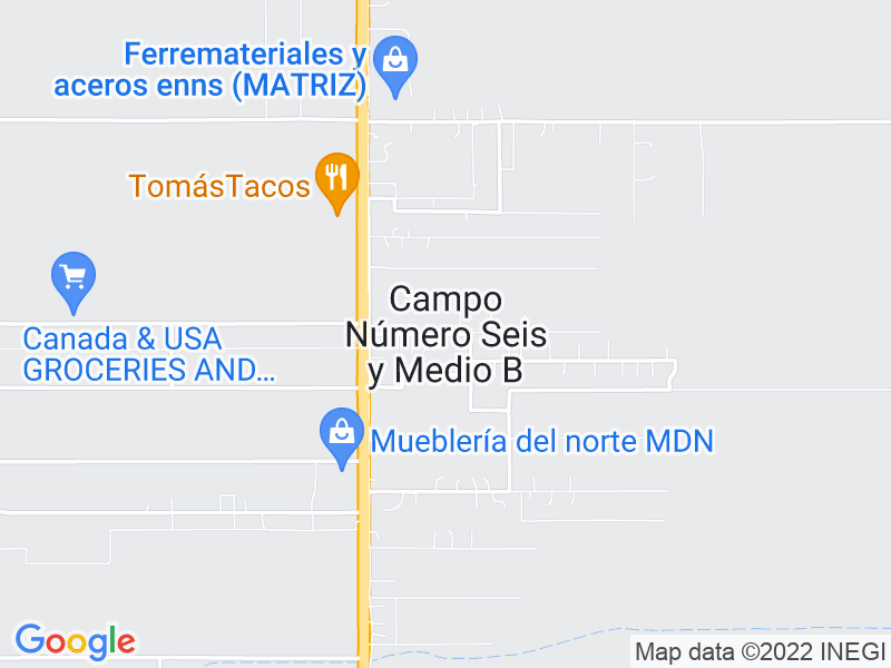 Campo Número Seis y Medio B, Chihuahua