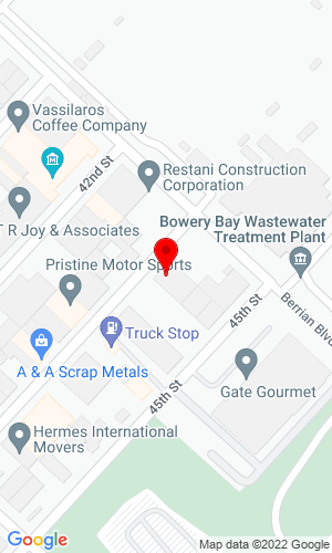 Google Map of Cap Rents Supply, LLC 18-25 43rd Street, Astoria, NY, 11105
