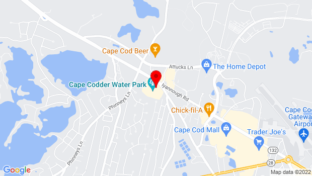 Google Map of Cape Codder Resort & Spa