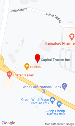 Google Map of Capital Tractor, Inc. 1135 State Route 29, Greenwich, NY, 12834