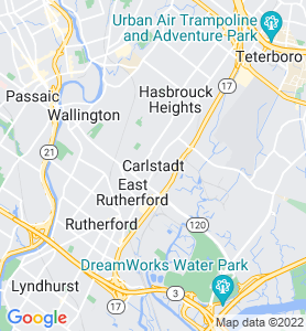 Carlstadt NJ Map