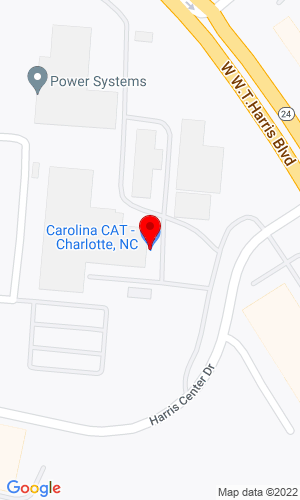 Google Map of Carolina CAT 9000 Statesville Road, Charlotte, NC, 28269