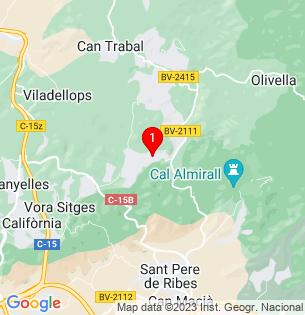 Google Map of Carrer de L\'os Blanc 28, Olivella, Barcelona, Spain