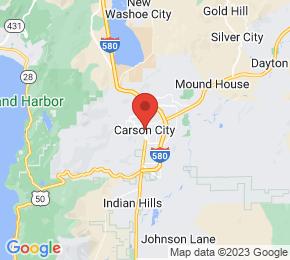 Job Map - Carson City, Nevada  US