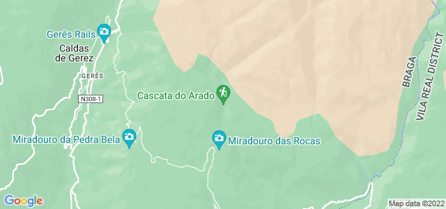 Cascata do Arado, Gerês, Portugal