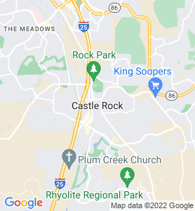 Castle Rock CO Map