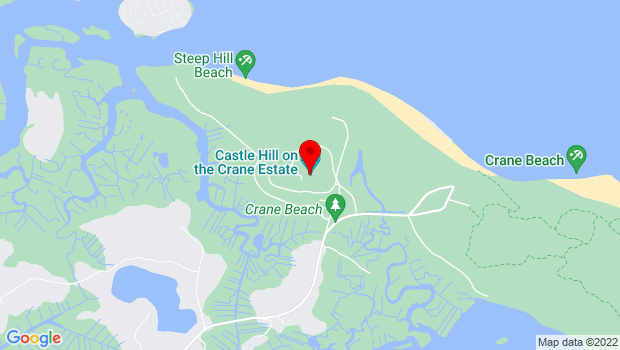 Google Map of Castle Hill on the Crane Estate, Ipswich, MA 01938