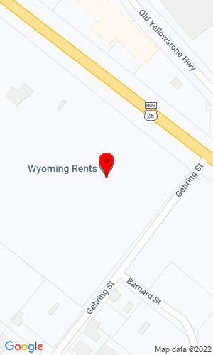 Google Map of Cat RentalWyoming Rents 2401 East Yellowstone , Casper, WY, 82609,
