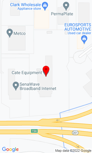 Google Map of Cate Equipment Company 2055 S Pioneer Road, Salt Lake City, UT, 84104,
