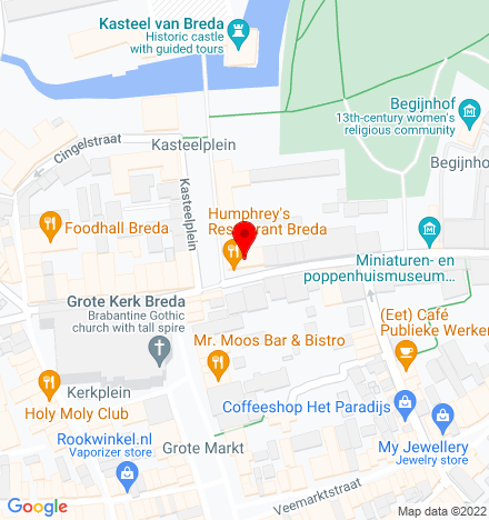 Google Map of Catharinastraat 1 4811 XD Breda