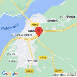 Google map of WGF-kazerneterrein, Harderwijk