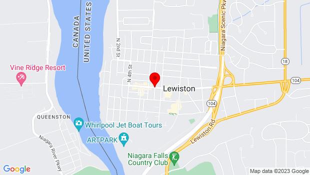 Google Map of Center Street, Lewiston, NY 14092