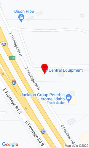Google Map of Central Equipment Company  46 East Frontage Road N, North Jerome, ID,