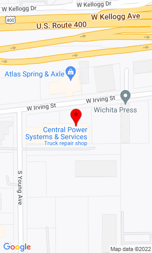 Google Map of Central Power Systems & Services 9200 Liberty Drive  (HQ), Liberty, MO, 64068