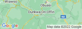Dunkwa map