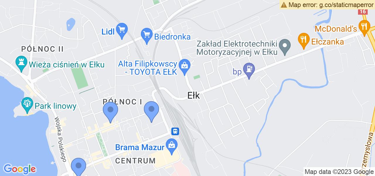 Osiedle Centrum w Ełku – w tych punktach ekspresowo wyślesz turbinę do autoryzowanego serwisu