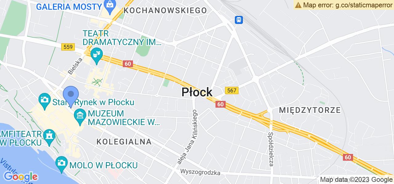 Osiedle Centrum w Płocku – w tych punktach ekspresowo wyślesz turbinę do autoryzowanego serwisu