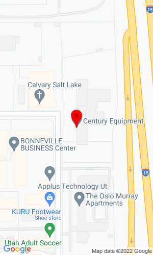 Google Map of Century Equipment Company 4343 Century Drive, Salt Lake City, UT, 84123