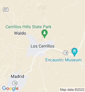 Cerrillos NM Map