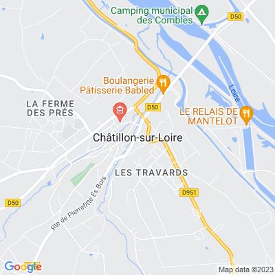 bed and breakfast Châtillon-sur-Loire