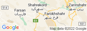 Farrokh Shahr map