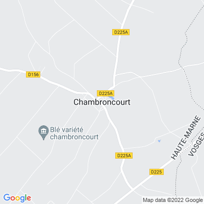 bed and breakfast Chambroncourt