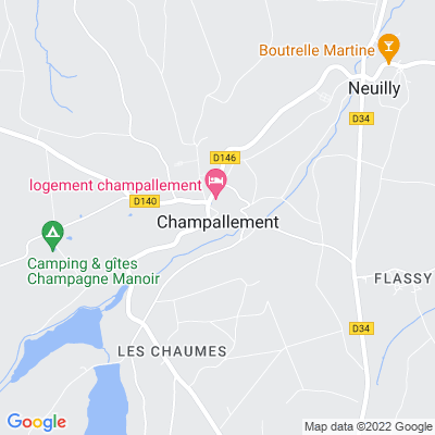 bed and breakfast Champallement