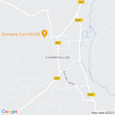 bed and breakfast Champvallon
