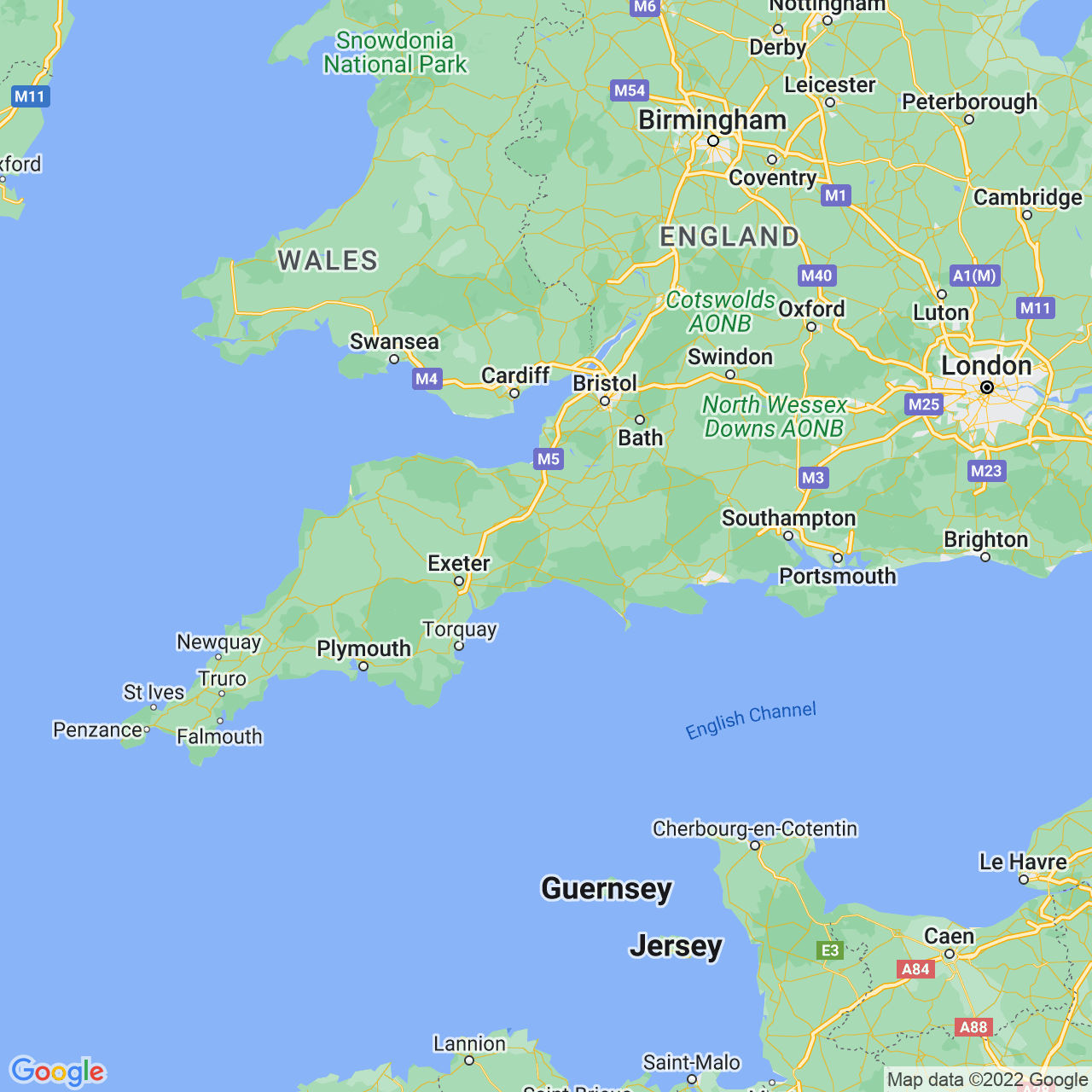 Chard, England Map