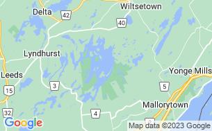 Map of Charleston Lake Campground