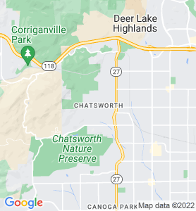 Chatsworth CA Map