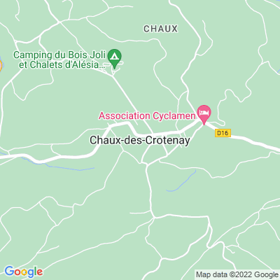 bed and breakfast Chaux-des-Crotenay
