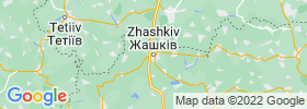 Zhashkiv map