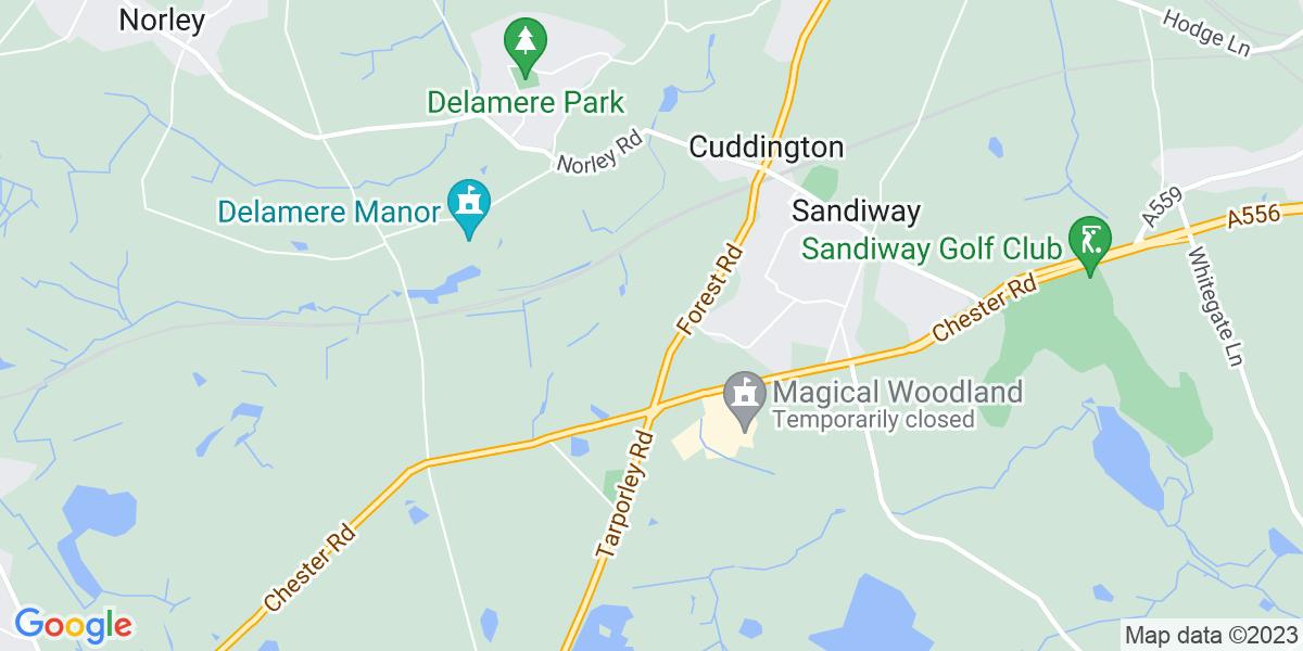 Map: Field based Internal Auditor - Spanish or Portuguese speaker job in Cheshire