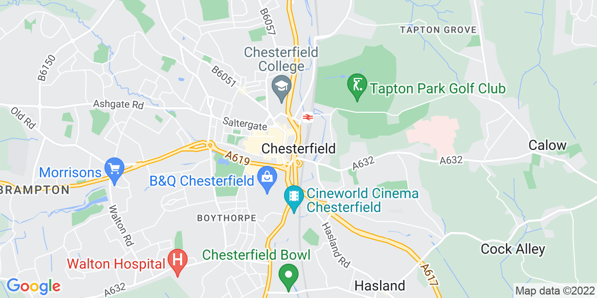 Map: Group Financial Accountant job in Chesterfield