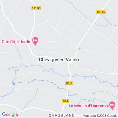 bed and breakfast Chevigny-en-Valière