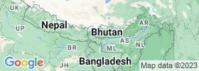 Chhukha map