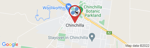 Chinchilla google map