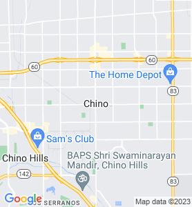 Chino CA Map