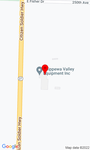 Google Map of Chippewa Valley Equipment 28013 250th Ave, Holcombe, WI, 54745