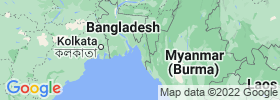 Chittagong map